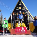 Red Mountain GMC Cup - J1 Men Slalom Podium