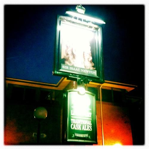Isaac Newton pub