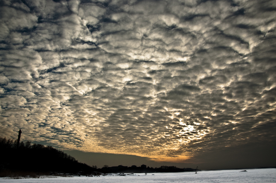 Clouds in Karlskrona