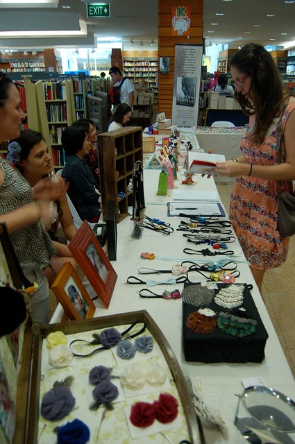 Kinokuniya craft fair