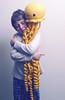 jellyfish love (callie callie jump jump) Tags: smile kids burlington toy stuffed vermont crochet humor craft plush yarn fantasy kawaii etsy amigurumi creatures hamdmade urbanfarmgirl erinnsimon