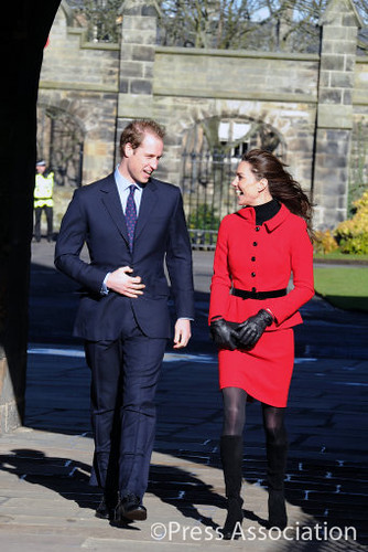 prince william st andrews 2011. Prince William and Catherine