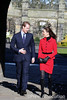 Prince William and Catherine Middleton visit St. Andrews by The British Monarchy