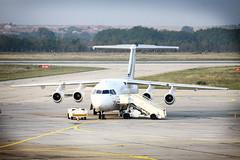 Ready to fly (feradz) Tags: airplane airport bulgaria varna самолет българия варна летище аерогара