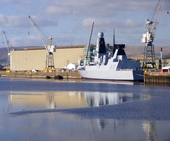 Dragon (Honestman28) Tags: river clyde ship dragon destroyer warship type45
