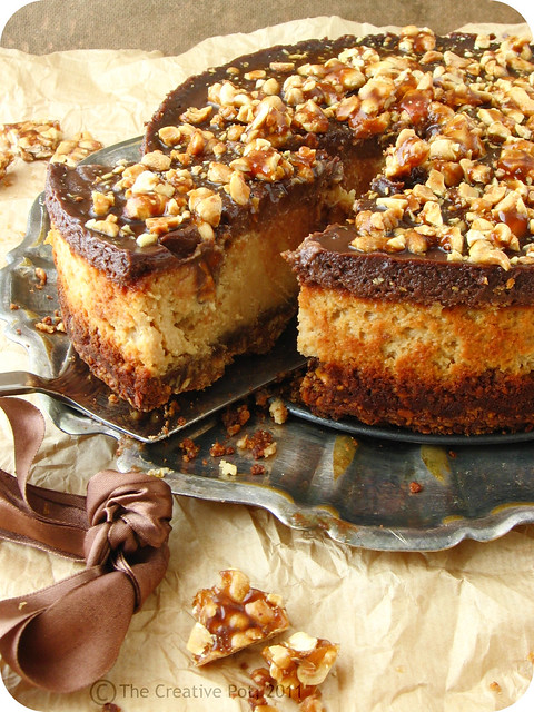 Chocolate Peanut Butter Cheesecake c-w