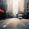tramway (millan p. rible) Tags: street hk cinema tlr film rollei rolleiflex mediumformat movie hongkong still kodak tram mf cinematic tramway twinlensreflex portra160vc