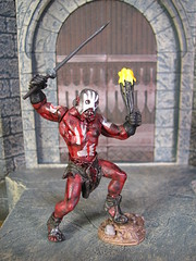 Battle at Helm's Deep: Uruk-hai berserker (FranMoff) Tags: toys lotr actionfigures lordoftherings berserker urukhai helmsdeep aome playalong af1271
