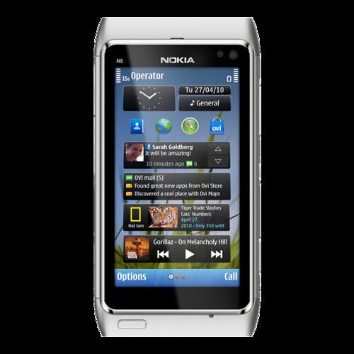 Nokia N8 - Frente
