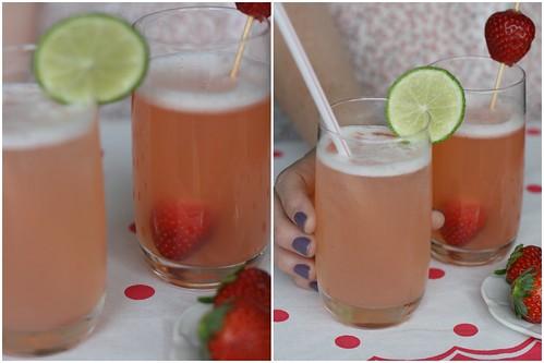 Limonada rosa: como fazer