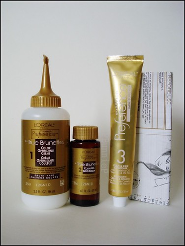 L'Oreal Superior Preference Haircolour contents