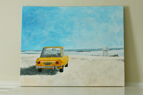 yellowcarpainting