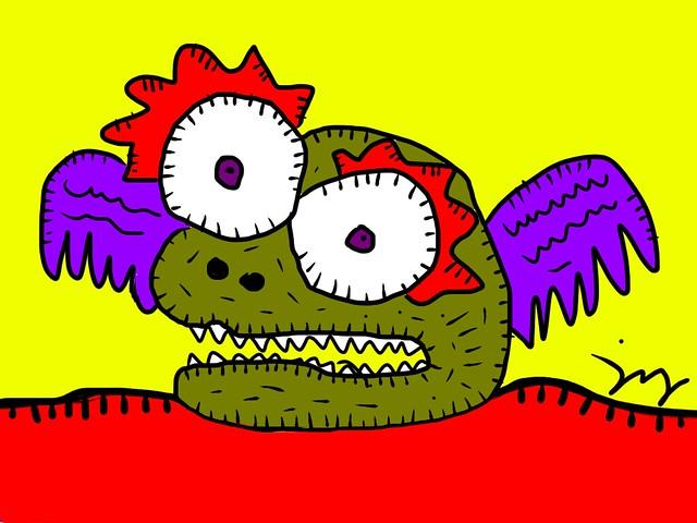 400 demons: Demon #11 - Babaing Kulangot na may Pakpak