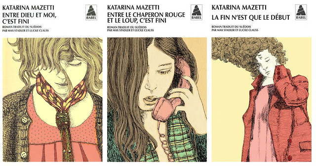 covers for katarina mazetti / actes sud