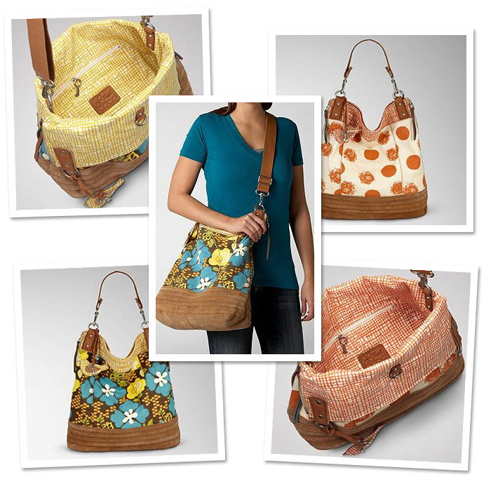 Fossil Weekender Bucket Handbag