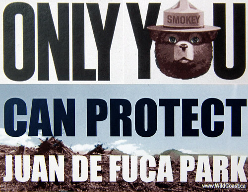 Don't FUCA with our Park!