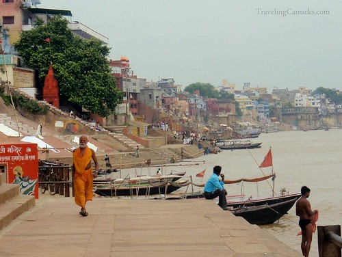 Ganges River in Varanasi, India