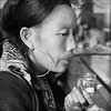 What's next? (NaPix -- (Time out)) Tags: portrait bw woman water glass thinking hmong pondering napix bestportraitsaoi