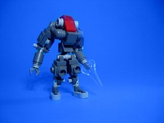 HK Zulu Mk. 8 (jestin pern) Tags: fiction hk robot lego mark space 8 science suit killer scifi hunter fi sci mecha bot zulu hardsuit
