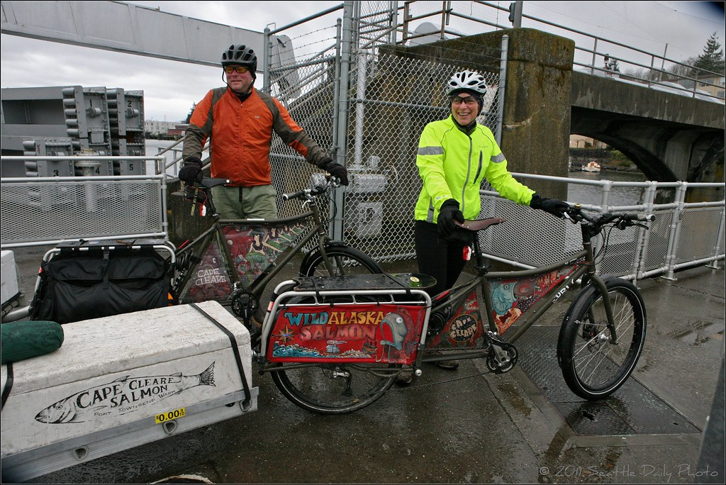 Cape Clear Delivers Their Catch By Bike