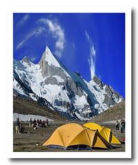 LAILA PEAK (TARIQ HAMEED SULEMANI) Tags: pakistan mountains tourism nature trekking hiking north peaks tariq skardu lailapeak concordians hushay sulrmani peregrino27worldchanging