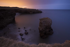NIGHTSTACK (Steve Boote..) Tags: longexposure sea seascape night dark coast northumbria coastline nationaltrust gitzo seastack whitburn pitchblack tyneandwear southtyneside souterlighthouse northeastengland sigma1020 leefilters steveboote canoneos550d