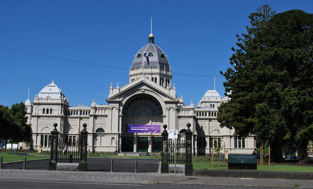 Royal Exhibition Building, Carlton, VIC, Australia
