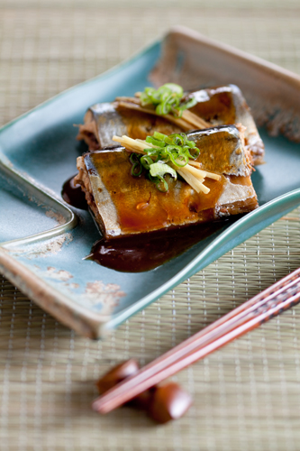 Miso Braised Pike Mackerel