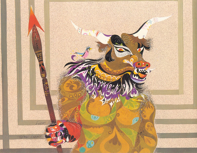 Erni Cabat (Magical World Of Monsters 1992) Minotaur