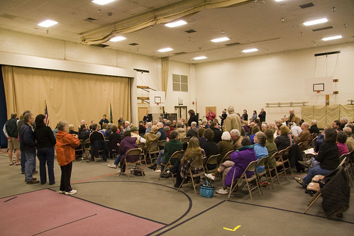 Thurston County LD 22 Townhall at Garfield Elementary in Olympia, Saturday 12 March 2011