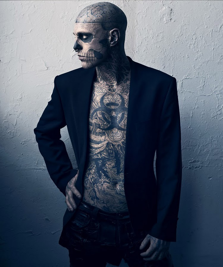 Hard To Be Passive by Mariano Vivanco and Nicola Formichetti Vogue Hommes Japan Magazine 2011 Rick Genest 8