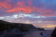 Sunrise near Durdle door, England, UK (see-photography.co.uk) Tags: family wedding sea portrait sky sunrise photography east canon10d dorset newborn bromley wow1 wow2 wow3 wow4 photographerlondon photographersouth photographykate photographerkent photographeruk mygearandme mygearandmepremium shumilova ringexcellence dblringexcellence tplringexcellence durduledoor photographerkate