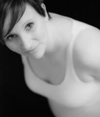 Linda (Maron) Tags: portrait white black pregnant maternity linda supermarion marionnesje