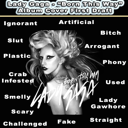 Gaga Born This Way Album Cover
