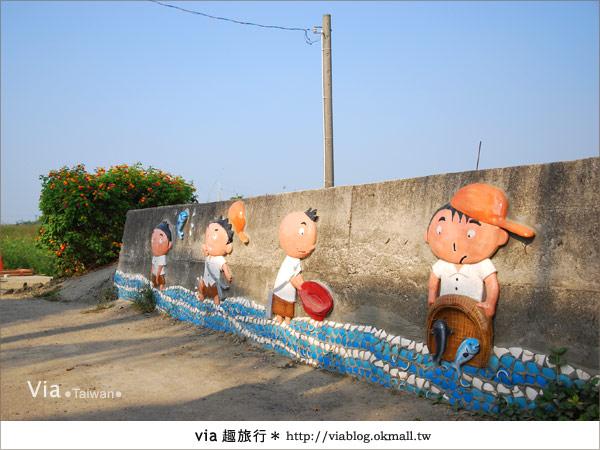 【嘉義景點】新港板頭村交趾剪粘藝術村~到處都是有趣的拍照景點!22