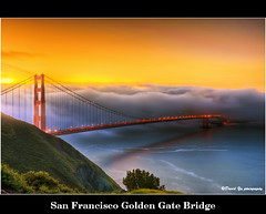 San Francisco Golden Gate Bridge (davidyuweb) Tags: sanfrancisco california bridge usa color sunrise golden bay gate san francisco area bayarea sfbay sfist
