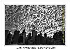 New York, Manhattan View (Photographando by Antonio Cuboni) Tags: bw newyork nikon manhattanview photographando