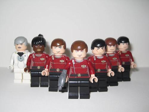 Custom minifig Minifig Star Trek II FC