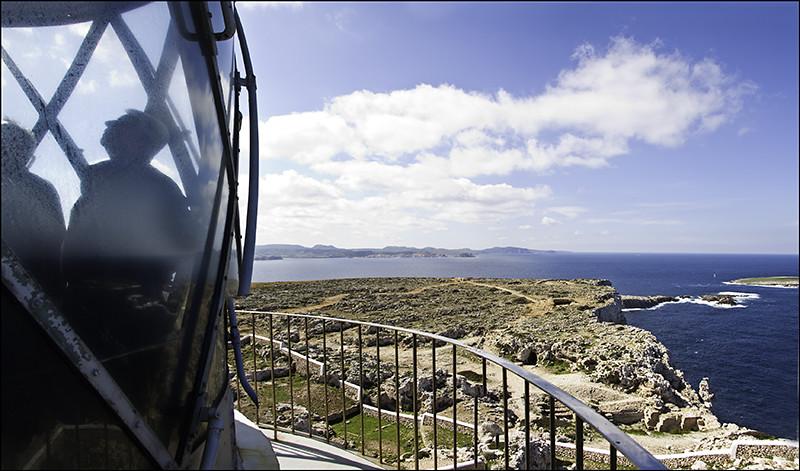 Panorámica desde el Óptica del Faro de Cavalleria