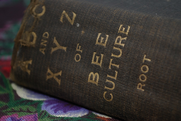 Vintage Books: ABC and XYZ of Bee Culture