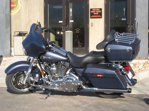 Street Glide Repaired
