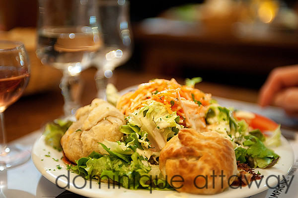 salade chevre chaud Le Laurencin