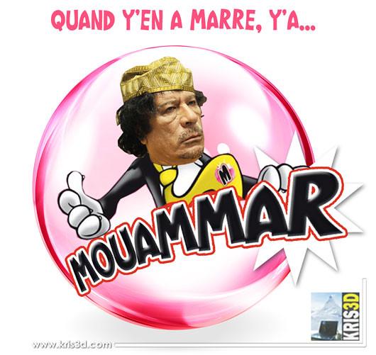 Mouammar, la nouvelle mascotte de Malabar en Libye…