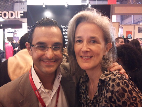 Salon du livre 2011 - Paris (France) : Arash Derambarsh et Tatiana de Rosnay by Arash Derambarsh