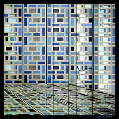 checkered (sediama (break)) Tags: blue lines architecture facade germany gold golden pattern metro pentax telekom cologne kln architektur nrw grn blau checkered nordrheinwestfalen fassade oberleitung linien strasenbahn k20d sediama detecon klnbbimgp5317