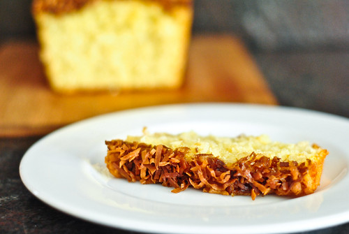 phyllis's toasted coconut bread