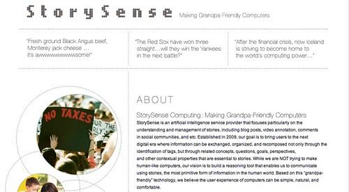 StorySense Computing