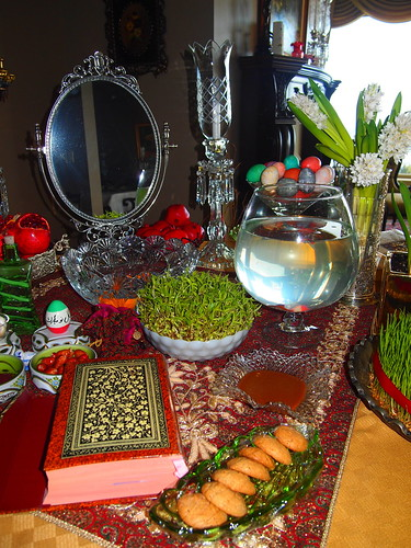 Persian New Year 2011 - Haft Seen (Table Decoration)