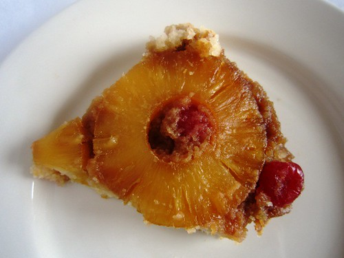 A slice of pineapple cake, take three