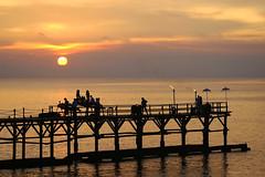 Romantic Sunset Dinner (Theo Widharto - sheko) Tags: sunset bali ayana romanticdinner preweddingbali